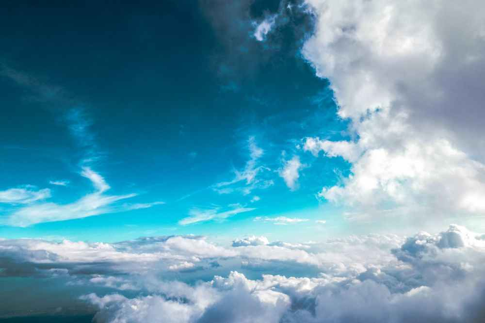 landscape sky clouds hd wallpaper