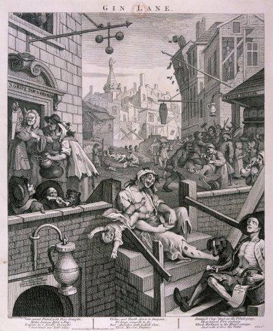 'Gin Lane', 1751.